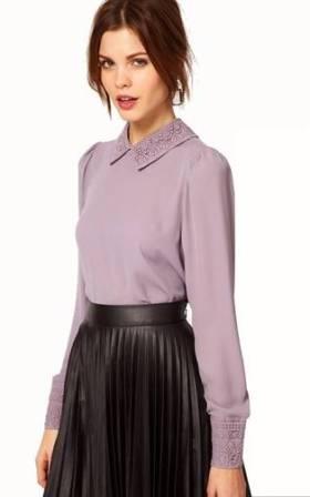 soldes chemisiers chemises femmes fashion pour dames chics marques de luxe pas cher com. Black Bedroom Furniture Sets. Home Design Ideas