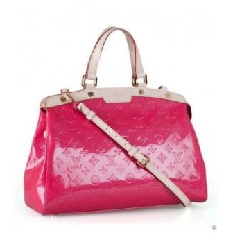 sac a main vuitton d occasion cuir rose